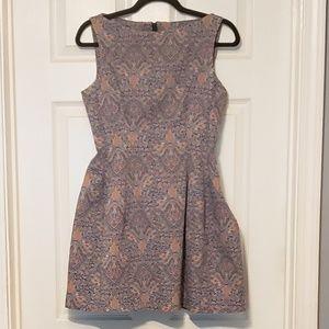 EUC Patterned Zara Dress